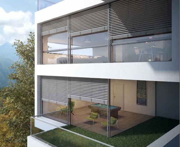 Venecianas exterior aluminio persianas dur - Persiana enrollable exterior ...